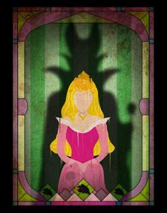 Disney characters and the shadows of their villains, b - Imgur