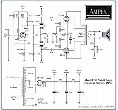Single-Ended (SE) 6L6 / 5881 Vacuum Tube Amplifier