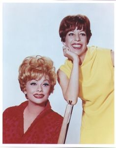 Lucille Ball and Carol Burnett, two of the funniest ladies of all time!