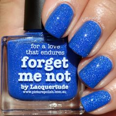 Picture Polish Forget Me Not Swatch & Review