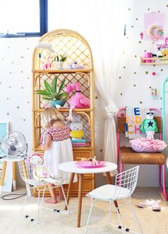 boho kids bedrooms  | girls bedroom ideas and inso - more on the blog | four cheeky monkeys