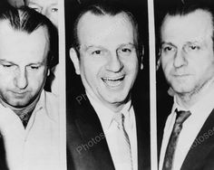 Notorious Jack Ruby Three Images 1960s 8x10 Reprint Of Old Photo