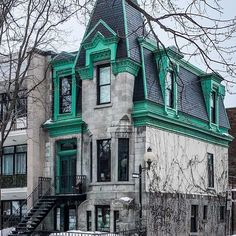 Montreal Ville, Montreal Quebec, Montreal Canada, Montreal Architecture, Canada Travel, Victorian Homes, St Louis, Street View, Mansions