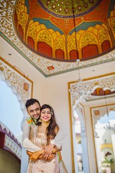 Photographer - Made For Each Other! Photos, Hindu Culture, Beige Color, Destination Wedding, Bridal Makeup, Couple Photographs pictures, images, vendor credits - The Wedding Salad, WeddingPlz