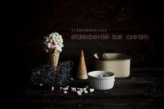Elderberry Ice Cream Recipe by Helena Ljunggren