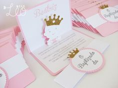 Convites Baby Princess