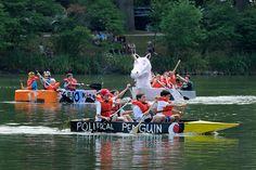 Cardboard Boat Regatta, Glen Ellyn, always the Saturday before the Fourth of July.  Best Holiday in Glen Ellyn!!