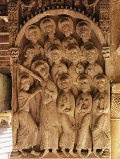 Doubting Thomas and Apostles c. 1150 Stone Monastery of Santo Domingo, Silos