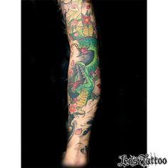 Trabalho realizado pelo @ximenestattoo #reillytattoobr #snake #snaketattoo #oriental #color #armtattoo #fineline #inkspiration #inked #arte #art #tatouage #tatuaje #artenapele #tattoobrasil #tattoo2me #tattoaria #ledstattoosp #brasil #saopaulo #moema #ibirapuera