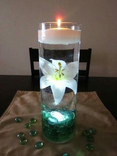 Lillie with candle
