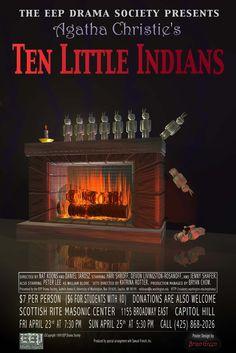 Agatha Christie: Ten Little Indians Girls Best Friend, Best Friends, Ten Little Indians, Bryan Stars, Hercule Poirot, Story Writer, Best Novels, English Book, Agatha Christie