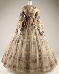 Afternoon Dress  1855  The Metropolitan Museum of Art