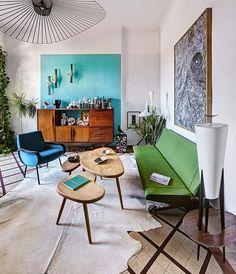Vivir en los 50 (con mucho color) en Marsella | Etxekodeco