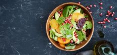 Let some of our favorite fall flavors entice your taste buds. You'll fall in love with this seasonal persimmon pomegranate salad