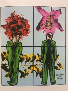 From 'The Art of Gilbert & George', a great collection of their art + secrets and anecdotes.