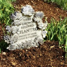 Herb Graveyard - DIY plant markers. I love this idea so much I want to marry it.