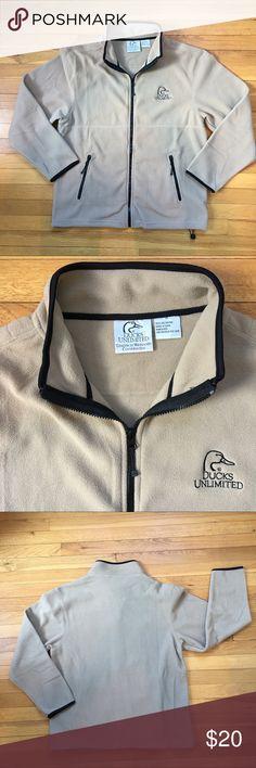⚡️FLASH SALE⚡️NWOT Ducks Unlimited Zip-up Jacket Ducks Unlimited Fleece Zip-up Jacket. NWOT!! Ducks Unlimited Jackets & Coats