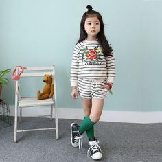 $24.90 (Buy here: https://alitems.com/g/1e8d114494ebda23ff8b16525dc3e8/?i=5&ulp=https%3A%2F%2Fwww.aliexpress.com%2Fitem%2FGirls-Wear-Cotton-South-Korean-Children-s-Two-Piece-Shirt-shorts-Suit-Kids-Clothing-Sets-Flowers%2F32650542832.html ) Girls Wear Cotton South Korean Children's Two Piece Shirt-shorts Suit Kids Clothing Sets Flowers Print Stripe for just $24.90