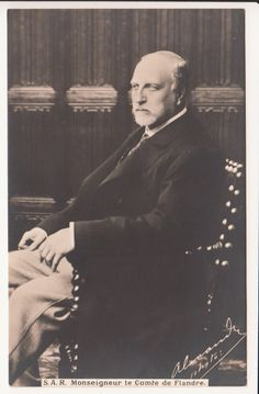 Late Prince Philippe of Belgium - Count of Flanders - RARE pcd