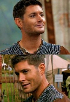 :) nice to see him smile so much! reminds me of the earlier season Dean with his cheeky grin ^^