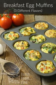 A fast and healthy breakfast option, these breakfast egg muffins offer variety, easy, and nutrition to your morning routine. Perfect for meal prep! breakfast healthy glutenfree eggs eggmuffins mealprep via 263671753170773253 Healthy Drinks, Healthy Snacks, Healthy Eating, Healthy Recipes, Clean Eating Snacks, Nutrition Drinks, Healthy Breakfasts, Nutrition Store, Fast Healthy Meals