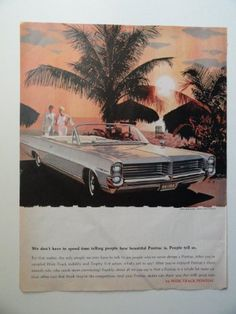 "1963 Pontiac Bonneville. 10""x13"" Print ad. color Illustra... https://www.amazon.com/dp/B009PBMEBI/ref=cm_sw_r_pi_dp_xc4txb7MN76JJ"