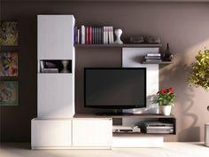 259 EUR. Con el mueble TV mural RODRIGO, ordena y decora.