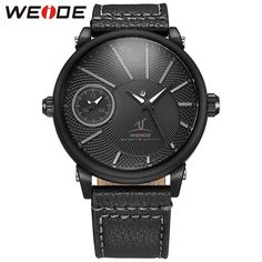 Like and Share if you want this  WEIDE Men's Dress Watch With Simple Black Dial 30m Waterproof Leather Strap Clock Men Quartz Business Wrist Watches Reloj Hombre     Tag a friend who would love this!     FREE Shipping Worldwide     Get it here ---> https://shoppingafter.com/products/weide-mens-dress-watch-with-simple-black-dial-30m-waterproof-leather-strap-clock-men-quartz-business-wrist-watches-reloj-hombre/