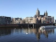 #Amsterdam -- Amsterdams Oosterdok - Click image to find more Travel Pinterest pins