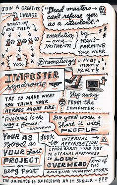 how to steal like an artist 2 - Gerren Lamson | Sketchnotes: How Design Live 2013