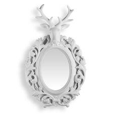 Espelho com Cabeça de Veado - iBacana