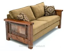 Reclaimed Wood Sofa