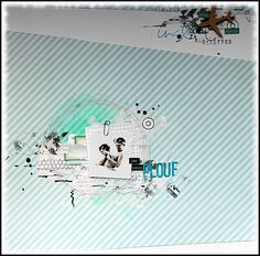 plouf Layouts, Movies, Movie Posters, Scrapbooking, Art, Art Background, Films, Film Poster, Kunst