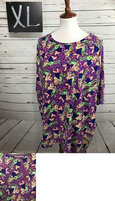Tops and Blouses 53159: Lularoe Disney Irma Shirt Tee Xl Nwt Kermit Frog Miss Piggy Purple Hearts Xlarge -> BUY IT NOW ONLY: $30 on eBay!