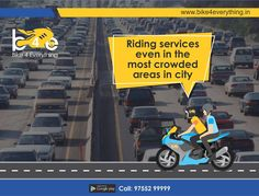 An on-demand #2Wheeler #Taxi services in #Indore - #Bike4Everything