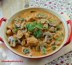 Chicken Stroganoff (Estrogonofe de Frango) for Father's Day... - From Brazil To You