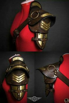 This would be so awesome with a steampunk outfit....both military and pirate based ^^