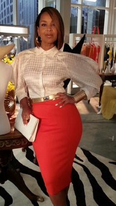 Love this look on Lisa Ray from the show Single Ladies. The top is by Rachel Roy I believe