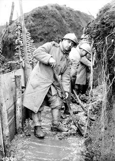 Les premières lignes près du saillant de Saint-Mihiel et la garnison de Verdun en janvier et début février 1916. – ECPAD