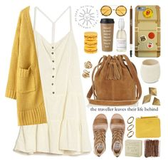 """current/elliott dress"" by jesuisunlapin ❤ liked on Polyvore"