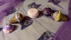 candies polymer clay