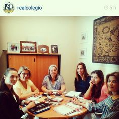 At @realcolegio we had our weekly meeting this tuesday!  Great team has great achievments!