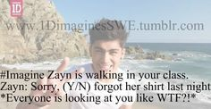 Imagines One Direction. that would be so funny! Cute Imagines, Harry Styles Imagines, Imagines Crush, One Direction Images, One Direction Humor, Zayn Mailk, Niall Horan, Zayn Malik Images, Right In The Childhood