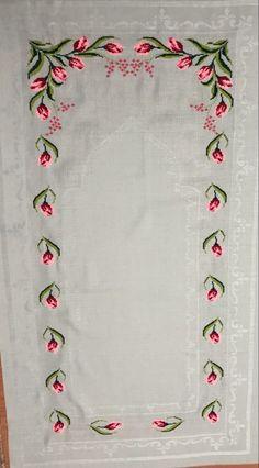 Tulip, Cross Stitch Embroidery, Stitches, Knitted Cushions, Punto De Cruz