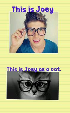 joey graceffa and hitch | joey graceffa:)