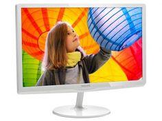 """Monitor Philips LED 23,6"""" Full HD Widescreen - E6 247E6QDAW com as melhores condições você encontra no Magazine Dufrom. Confira!"""