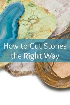 Lapidary Introduction to Stone Cutting - new season bijouterie Rock Jewelry, Jewelry Tools, Jewelry Crafts, Handmade Jewelry, Jewelry Ideas, Jewellery Box, Jewellery Making, Raw Gemstone Jewelry, Amber Jewelry