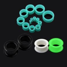 Find More Body Jewelry Information about 3pair Popular Silicone Ear Pierces Tunnels Plugs Flesh Ear Expansions Charm Earlet Dilators Earring Body Piercing Jewelry,High Quality jewelry electroplating,China earrings pearls jewelry Suppliers, Cheap jewelry cardboard gift boxes from Longbeauty Official Store on Aliexpress.com