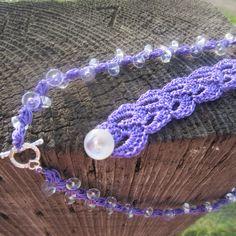 Sentindo amor roxo. . . | do G-Ma Ellen Hands - Adventures in Crochet e Knit