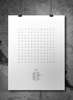 Yoga terms in a cross puzzle minimalistic design for you , Find the words printable, Popular yoga words, Modern game design, Yoga activity Printing Services, Online Printing, Yoga Terms, Printable Art, Printables, Minimalist Design, Digital Prints, Puzzle, Notes